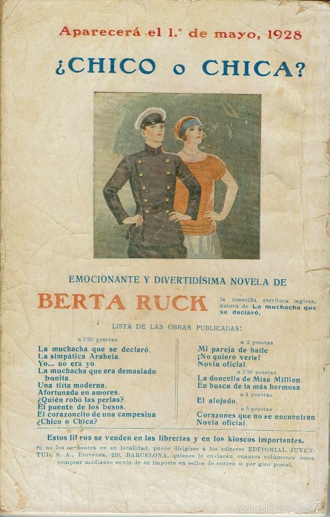 Libros antiguos: JAVIER DE MIRANDA, POR J. F. MUÑOZ Y PABÓN, PBRO. LA NOVELA ROSA Nº 104. AÑO 1928. (AP) - Foto 2 - 57479184