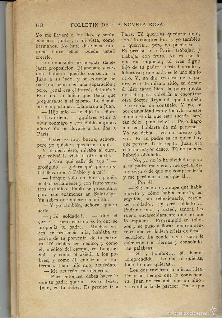Libros antiguos: ORO DE LEY, DE JUAN F. MUÑOZ Y PABÓN. LA NOVELA ROSA Nº 74. AÑO 1927. (AP) - Foto 2 - 57479349