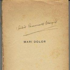 Libros antiguos: MARI DOLOR, DE ÁNGEL MENOYO PORTALES. LA NOVELA ROSA Nº 133. AÑO 1929. (AP). Lote 57479980
