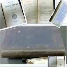 Libros antiguos: AÑO 1926 .- MONTSERRAT.- POR AURELIO G. RENDON. PRIMERA NOVELA RADIOFÓNICA.. Lote 30456754