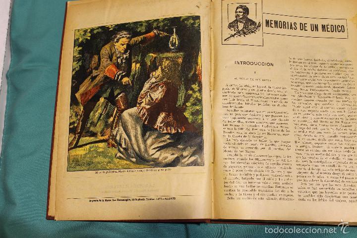 Libros antiguos: MEMORIAS DE UN MEDICO .ALEJANDRO DUMAS EDITORIAL LA NOVELA ILUSTRADA - Foto 2 - 61025915
