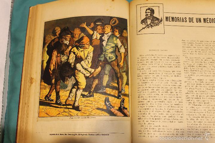 Libros antiguos: MEMORIAS DE UN MEDICO .ALEJANDRO DUMAS EDITORIAL LA NOVELA ILUSTRADA - Foto 4 - 61025915