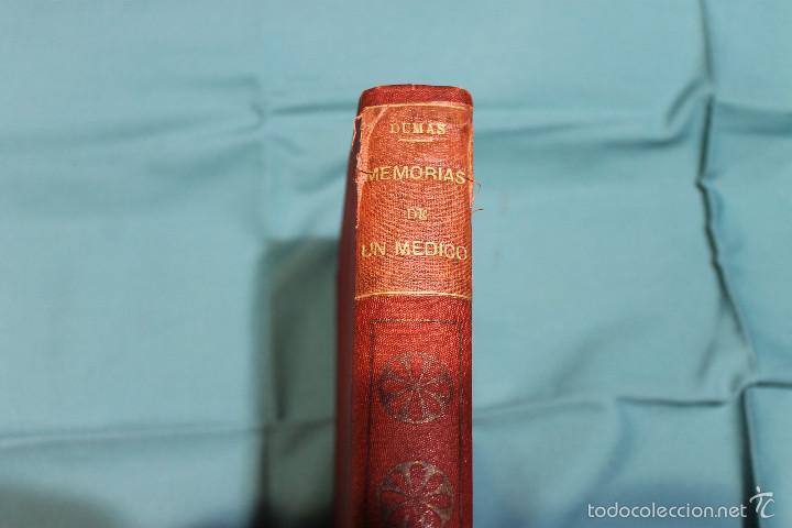 Libros antiguos: MEMORIAS DE UN MEDICO .ALEJANDRO DUMAS EDITORIAL LA NOVELA ILUSTRADA - Foto 6 - 61025915