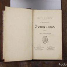 Libros antiguos: 4733- LOS HERMANOS ZEMGANNO. EDMUNDO DE GONCOURT. EDIT. LA ESPAÑA EDITORIAL. S/F.. Lote 43677612