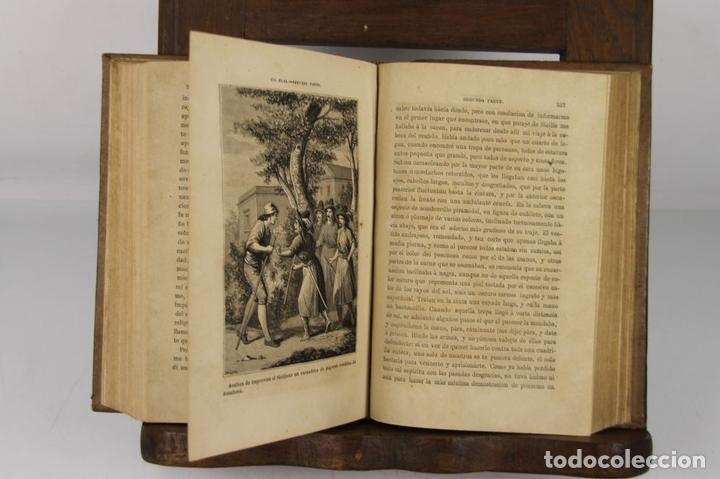 Libros antiguos: 4889- AVENTURAS DE GIL BLAS DE SANTILLANA. M. LASAGE. TIP. R. LABAJOS. 1876 2 VOL. - Foto 4 - 43908206