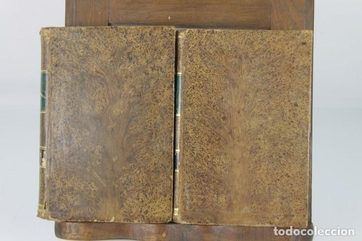Libros antiguos: 4889- AVENTURAS DE GIL BLAS DE SANTILLANA. M. LASAGE. TIP. R. LABAJOS. 1876 2 VOL. - Foto 6 - 43908206