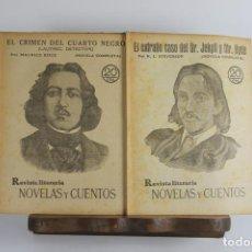 Libros antiguos: 5055- REVISTA LITERARIA. REVISTAS Y CUENTOS. 6 TOMOS 154 FASCICULOS. VER AMPLIA DESCRIPCION.. Lote 44463843