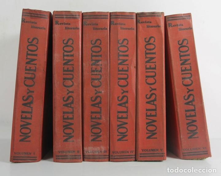 Libros antiguos: 5055- REVISTA LITERARIA. REVISTAS Y CUENTOS. 6 TOMOS 154 FASCICULOS. VER AMPLIA DESCRIPCION. - Foto 3 - 44463843