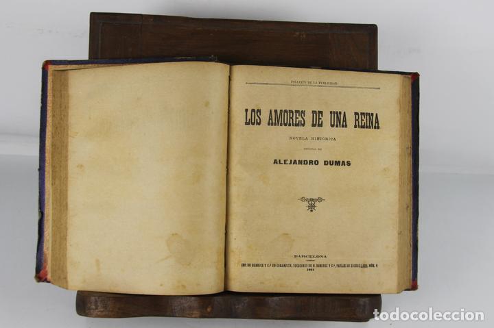5100- FOLLETIN DE LA PUBLICIDAD. 3 NOVELAS ENCUADERNADAS. IMP. ENRIQUE Y CIA. 1890/1901. (Libros antiguos (hasta 1936), raros y curiosos - Literatura - Narrativa - Novela Romántica)