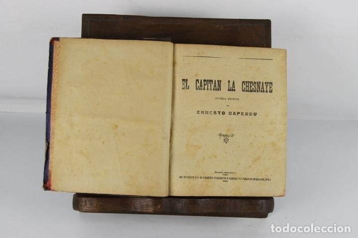 Libros antiguos: 5100- FOLLETIN DE LA PUBLICIDAD. 3 NOVELAS ENCUADERNADAS. IMP. ENRIQUE Y CIA. 1890/1901. - Foto 2 - 45093304
