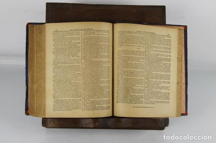 Libros antiguos: 5100- FOLLETIN DE LA PUBLICIDAD. 3 NOVELAS ENCUADERNADAS. IMP. ENRIQUE Y CIA. 1890/1901. - Foto 4 - 45093304