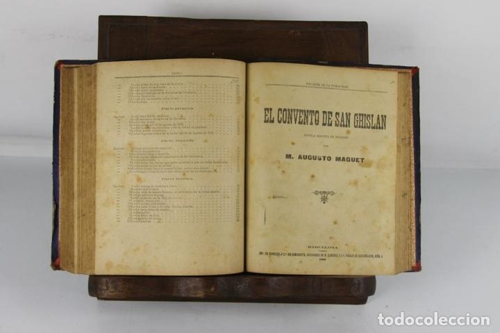 Libros antiguos: 5100- FOLLETIN DE LA PUBLICIDAD. 3 NOVELAS ENCUADERNADAS. IMP. ENRIQUE Y CIA. 1890/1901. - Foto 5 - 45093304