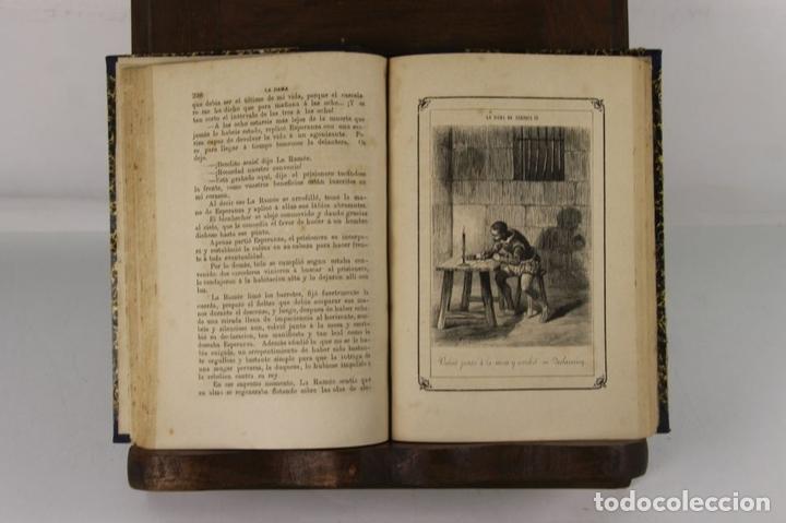 Libros antiguos: 5109- LA DAMA DE ENRIQUE IV. AUGUSTO MAQUET. LIT. ARJONA. 1863. 2 VOL. - Foto 2 - 45095778
