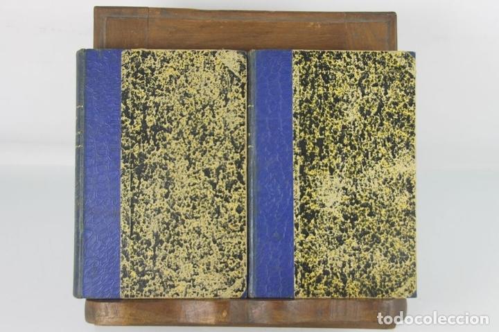 Libros antiguos: 5109- LA DAMA DE ENRIQUE IV. AUGUSTO MAQUET. LIT. ARJONA. 1863. 2 VOL. - Foto 3 - 45095778