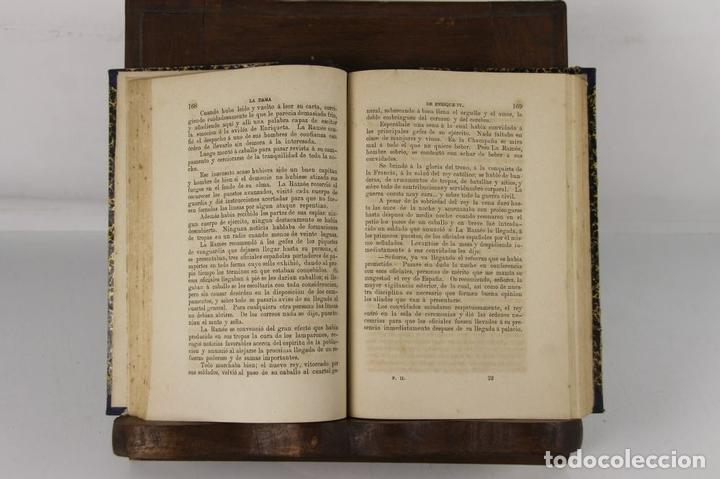 Libros antiguos: 5109- LA DAMA DE ENRIQUE IV. AUGUSTO MAQUET. LIT. ARJONA. 1863. 2 VOL. - Foto 6 - 45095778