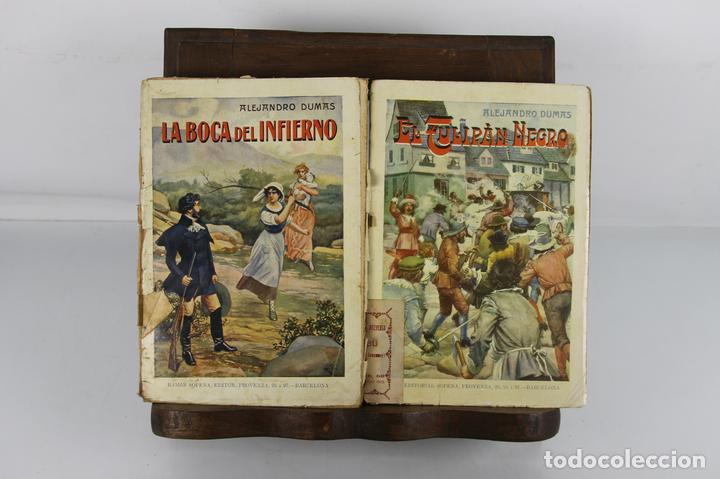5129-BIBLIOTECA DE GRANDES NOVELAS. COLECCION DE 28 TITULOS. EDIT. SOPENA. AÑOS 30. (Libros antiguos (hasta 1936), raros y curiosos - Literatura - Narrativa - Novela Romántica)