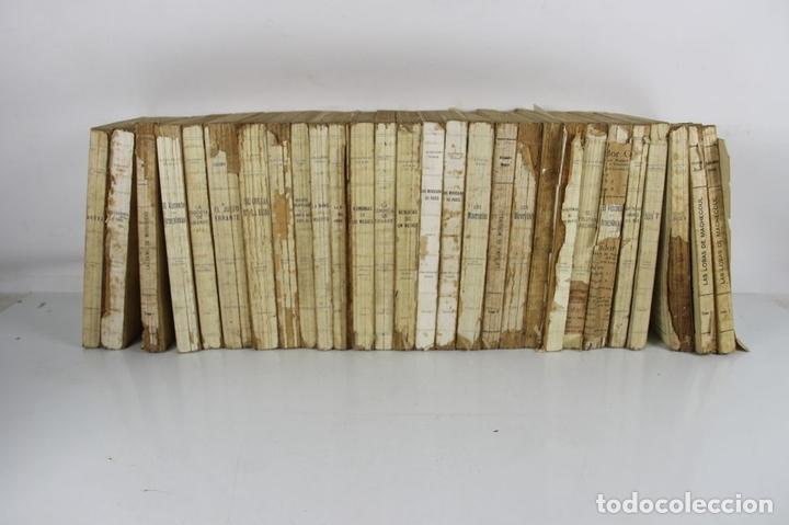 Libros antiguos: 5129-BIBLIOTECA DE GRANDES NOVELAS. COLECCION DE 28 TITULOS. EDIT. SOPENA. AÑOS 30. - Foto 9 - 45196910