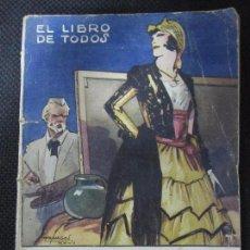 Libros antiguos: LA VIRGEN Y LA FIERA. ALBERTO ISÚA. EL LIBRO DE TODOS. Nº4. EDIT. COSMOPOLIS. 1927. 130PAGS.. Lote 66568562