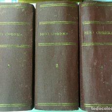 Libros antiguos: EL HIJO DE LA OBRERA. LUIS DE VAL. EDITORIAL CASTRO. 3 TOMOS. COMPLETA. Lote 67778717