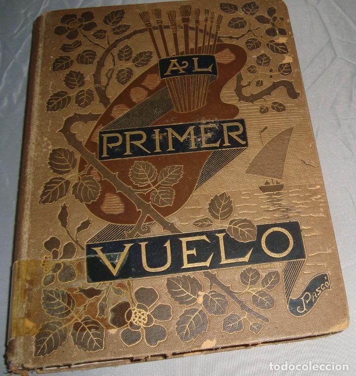 AL PRIMER VUELO DE J.M. DE PEREDA, TOMOS II 1891, IMPRENTA DE HENRICH Y CIA (Libros antiguos (hasta 1936), raros y curiosos - Literatura - Narrativa - Novela Romántica)