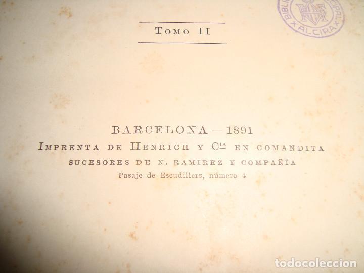 Libros antiguos: AL PRIMER VUELO DE J.M. DE PEREDA, TOMOS II 1891, IMPRENTA DE HENRICH Y CIA - Foto 3 - 67873081