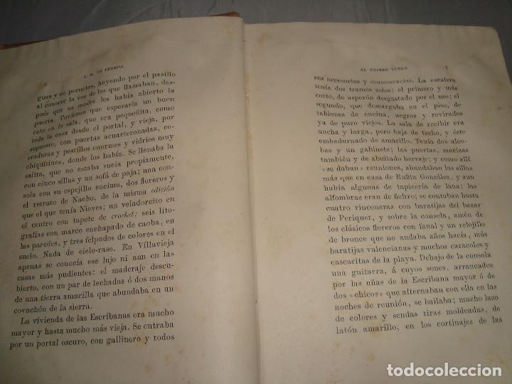 Libros antiguos: AL PRIMER VUELO DE J.M. DE PEREDA, TOMOS II 1891, IMPRENTA DE HENRICH Y CIA - Foto 4 - 67873081