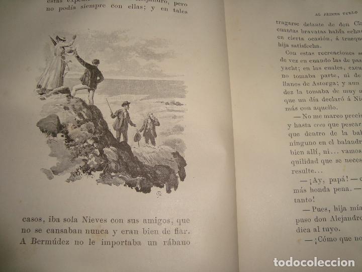Libros antiguos: AL PRIMER VUELO DE J.M. DE PEREDA, TOMOS II 1891, IMPRENTA DE HENRICH Y CIA - Foto 5 - 67873081