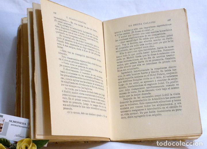 Libros antiguos: AÑO 1923. La Reina Calafia. Novela BLASCO IBAÑEZ, Vicente, 1º EDICIÓN 40.000 EJEMPLARES. - Foto 8 - 75417727