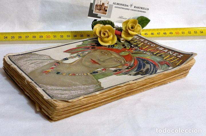 Libros antiguos: AÑO 1923. La Reina Calafia. Novela BLASCO IBAÑEZ, Vicente, 1º EDICIÓN 40.000 EJEMPLARES. - Foto 10 - 75417727
