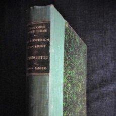 Libros antiguos: 4 OBRAS DE MARCEL PRÉVOST, AMPLIAMENTE ILUSTRADAS. FINALES SIGLO XIX O PRINCIPIOS DEL XX. Lote 69782741