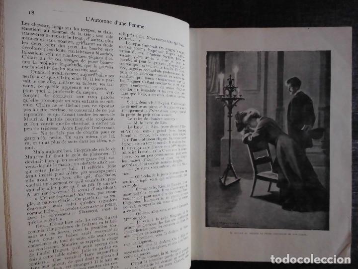 Libros antiguos: 4 OBRAS DE MARCEL PRÉVOST, AMPLIAMENTE ILUSTRADAS. FINALES SIGLO XIX O PRINCIPIOS DEL XX - Foto 4 - 69782741
