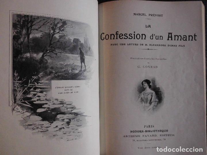 Libros antiguos: 4 OBRAS DE MARCEL PRÉVOST, AMPLIAMENTE ILUSTRADAS. FINALES SIGLO XIX O PRINCIPIOS DEL XX - Foto 6 - 69782741
