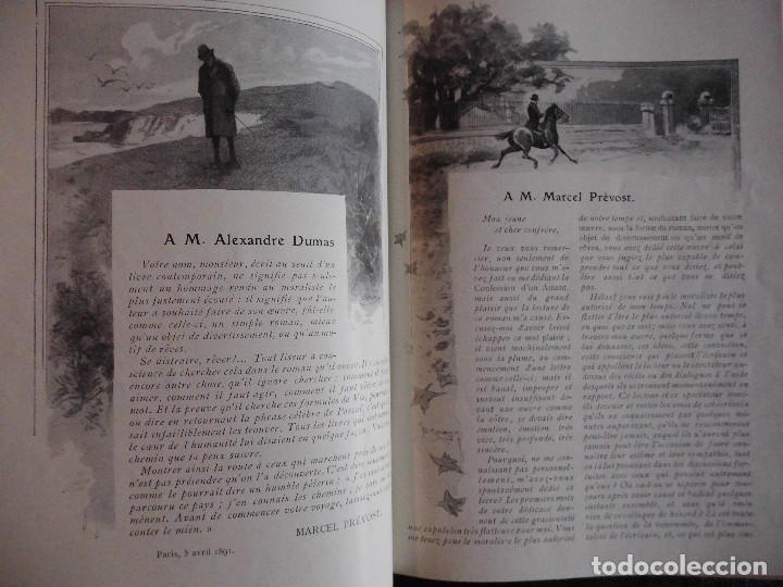 Libros antiguos: 4 OBRAS DE MARCEL PRÉVOST, AMPLIAMENTE ILUSTRADAS. FINALES SIGLO XIX O PRINCIPIOS DEL XX - Foto 7 - 69782741