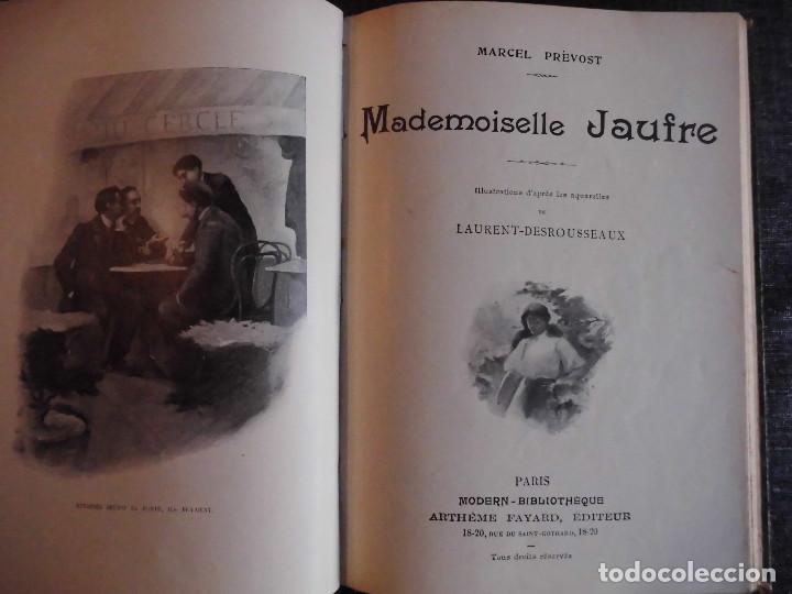Libros antiguos: 4 OBRAS DE MARCEL PRÉVOST, AMPLIAMENTE ILUSTRADAS. FINALES SIGLO XIX O PRINCIPIOS DEL XX - Foto 19 - 69782741