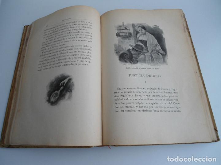 Libros antiguos: PARA ELLAS COLECCION DE NOVELITAS - ADELA SANCHEZ CANTOS DE ESCOBAR - Ed. MONTANER Y SIMON 1896 - Foto 6 - 120867382