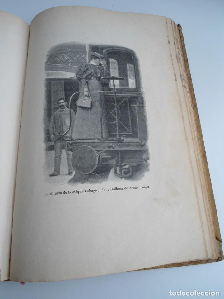 Libros antiguos: PARA ELLAS COLECCION DE NOVELITAS - ADELA SANCHEZ CANTOS DE ESCOBAR - Ed. MONTANER Y SIMON 1896 - Foto 8 - 120867382