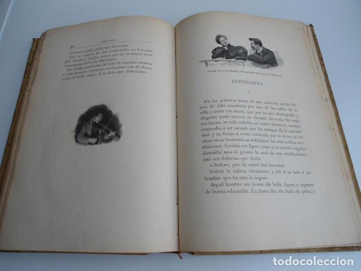Libros antiguos: PARA ELLAS COLECCION DE NOVELITAS - ADELA SANCHEZ CANTOS DE ESCOBAR - Ed. MONTANER Y SIMON 1896 - Foto 9 - 120867382