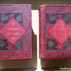 Libros antiguos: EL CALVARIO DEL AMOR 2 TOMOS ALREDEDOR AÑO 1910 ANTONIO CONTRERAS. Lote 72758007