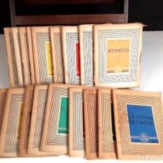 Libros antiguos: 8314 - BIBLIOTECA DE LA ROSA DELS VENTS. 18 VOLUM. (VER DESCRIP). VV. AA. 1937-1938.. Lote 73277267