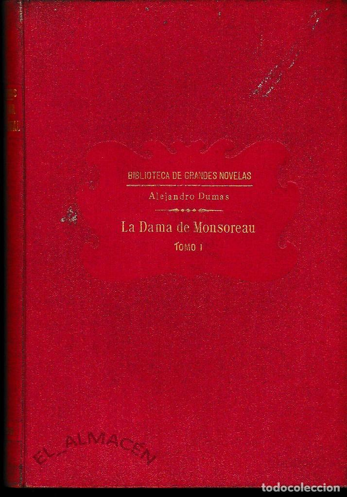 LA DAMA DE MONSOREAU 2 VOLS. A. DUMAS (SOPENA 1930) SIN USAR (Libros antiguos (hasta 1936), raros y curiosos - Literatura - Narrativa - Novela Romántica)