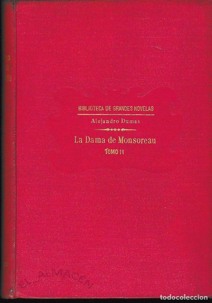 Libros antiguos: LA DAMA DE MONSOREAU 2 VOLS. A. DUMAS (SOPENA 1930) SIN USAR - Foto 2 - 73588727