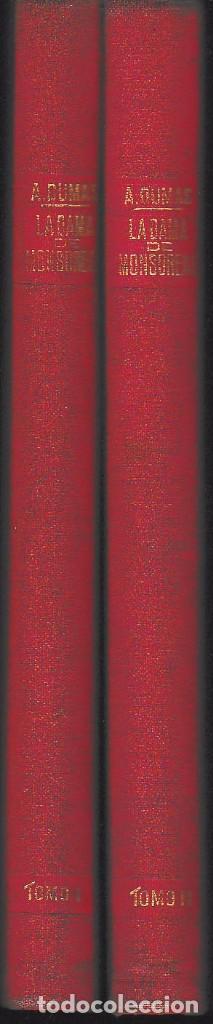 Libros antiguos: LA DAMA DE MONSOREAU 2 VOLS. A. DUMAS (SOPENA 1930) SIN USAR - Foto 3 - 73588727