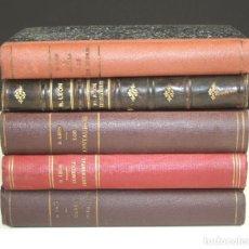 Libros antiguos: 5220-2 - RICARDO LEÓN. LOTE DE 5 EJEMPLARES. (VER DESCRIP). VV. EDIT. 1914-1926.. Lote 74958691