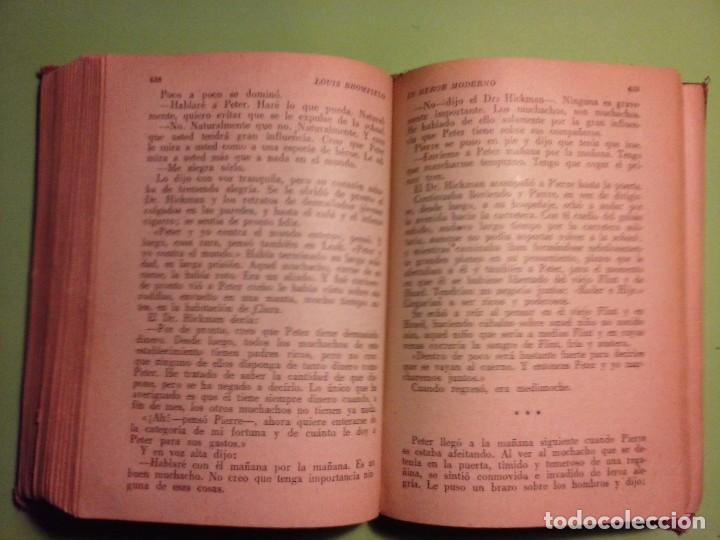 Libros antiguos: Un héroe moderno - Louis Bromfield [Editorial La Nave 1945, Madrid ] - Foto 11 - 75931111