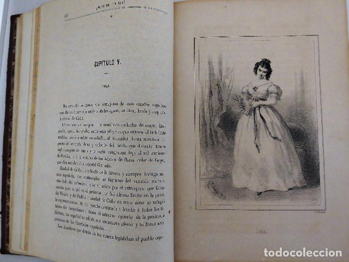 Libros antiguos: ¡FLOR DE UN DÍA! - NOVELA, LIBRO OBRA DE MANUEL ANGELON (1862) - INCLUYE 8 LÁMINAS - Foto 6 - 76764023