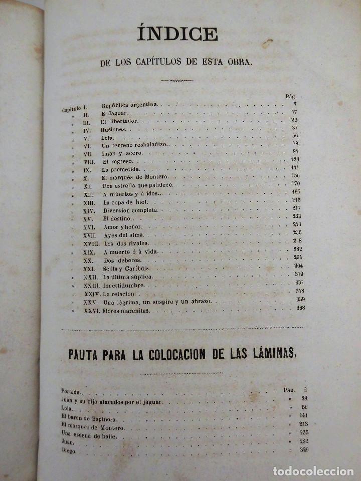 Libros antiguos: ¡FLOR DE UN DÍA! - NOVELA, LIBRO OBRA DE MANUEL ANGELON (1862) - INCLUYE 8 LÁMINAS - Foto 9 - 76764023