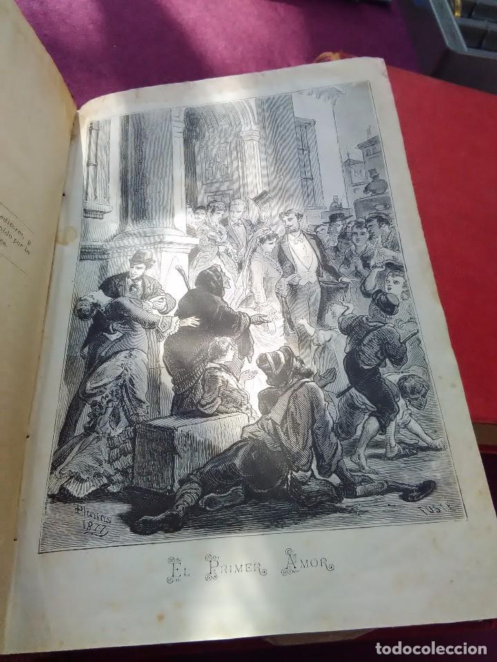 Libros antiguos: EL PRIMER AMOR ALVARO CARRILLO 1877 - Foto 3 - 77136917