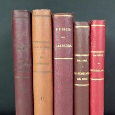 Libros antiguos: EDITORES PERLADO, PÁEZ Y COMPAÑÍA. 5 EJEMPLARES(VER DESCRIPCIÓN). B. PÉREZ GALDÓS. 1905/1909.. Lote 77880229