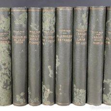 Libros antiguos: EDITOR GUSTAVO GILI. 8 TOMOS(VER DESCRIP). EDGAR RICE BURROUGHS. 1927/1938.. Lote 77986649
