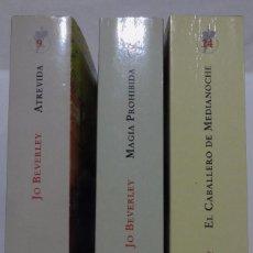 Libros antiguos: LOTE 3 LIBROS, JO BEVERLY, NOVELA ROMÁNTICA. Lote 79063169